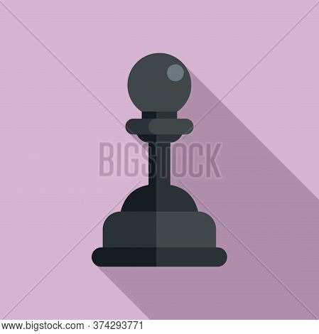 Video Game Pawn Icon. Flat Illustration Of Video Game Pawn Vector Icon For Web Design