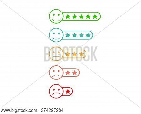Stars Ranking Evaluation. Satisfaction Feedback From Low To High Level. Ranking Quality Review. Choi