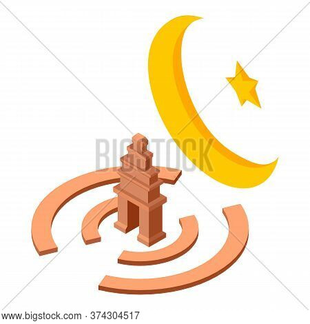 Islam Culture Icon. Isometric Illustration Of Islam Culture Vector Icon For Web