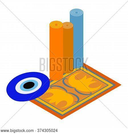 Turkey Attribute Icon. Isometric Illustration Of Turkey Attribute Vector Icon For Web