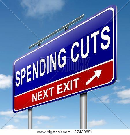 Spending Cuts.