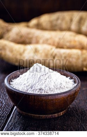 Brazilian Cassava Flour, Called Polvilho, Cassava Starch, Carimã Or Gum, Is The Starch Of Cassava.