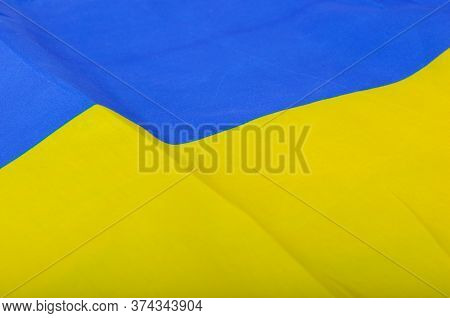 The Flag Of Ukraine Is A Banner Of Two Equally Sized Horizontal Bands Of Blue And Yellow