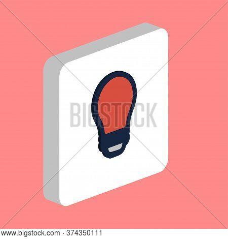 Led Bulb, Lamp Simple Vector Icon. Illustration Symbol Design Template For Web Mobile Ui Element. Pe