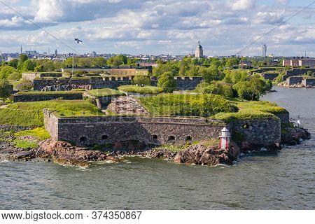 Fortress Of Suomenlinna Near Helsinki In Finland