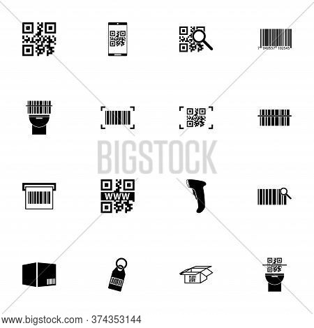 Check Code Icon - Expand To Any Size - Change To Any Colour. Perfect Flat Vector Contains Such Icons