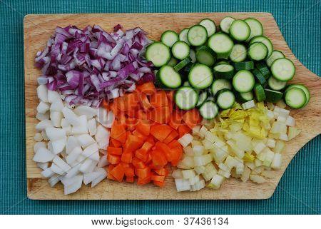 Tavolozza di verdure