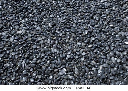 Dark Pebble Background