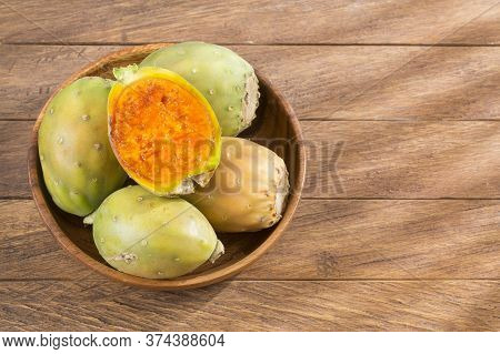 Fruit Of The Cactus - Opuntia Ficus Indica