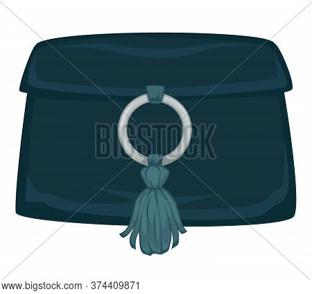 Clutch With Decoration, Women Fashion And Trendy Accessories