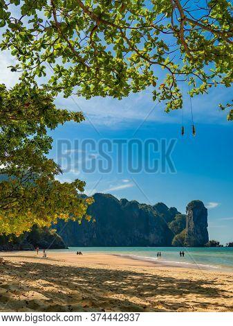 Ao Nang beach  in Krabi Thailand