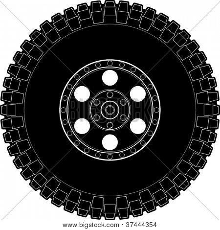 off road tire symbol