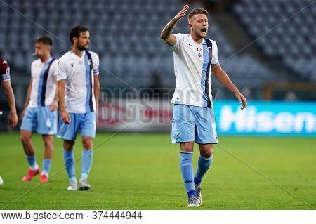 Torino (italy) 30th June 2020 . Italian Football League Serie A.  Torino Fc Vs Ss Lazio. Sergej Mili