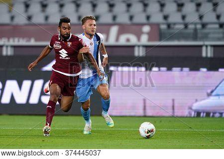 Torino (italy) 30th June 2020 . Italian Football League Serie A.  Torino Fc Vs Ss Lazio. Koffi Djidj