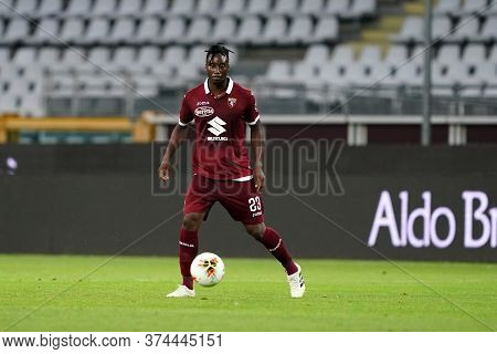 Torino (italy) 30th June 2020 . Italian Football League Serie A.  Torino Fc Vs Ss Lazio. Soualiho Me
