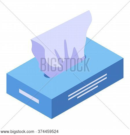 Wet Wipes Icon. Isometric Of Wet Wipes Vector Icon For Web Design Isolated On White Background