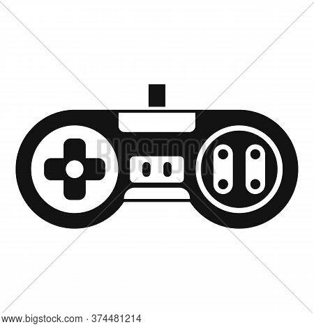 Arcade Gaming Joystick Icon. Simple Illustration Of Arcade Gaming Joystick Vector Icon For Web Desig
