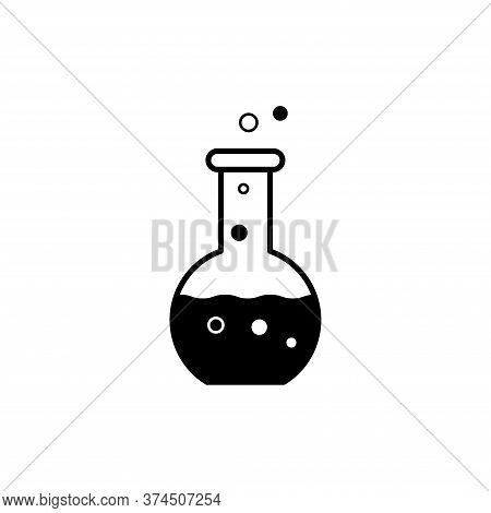 Illustration Vector Graphic Of Tube Icon. Fit For Chemical, Science, Laboratory Etc.