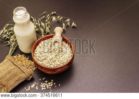 Vegan Oat Milk, Non Dairy Alternative Milk