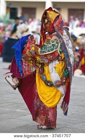 Cham mystery, Nepal