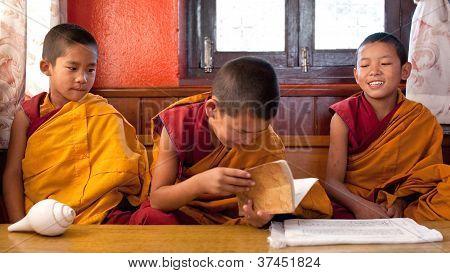 Buddhist monks, Nepal