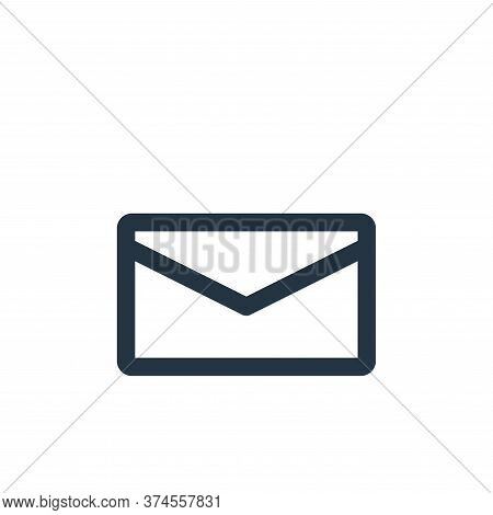 mail icon isolated on white background from multimedia collection. mail icon trendy and modern mail