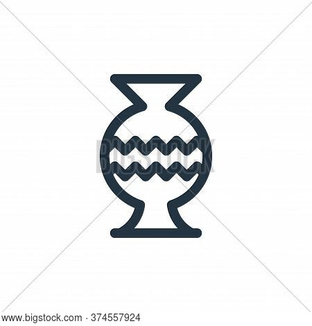 vase icon isolated on white background from europe collection. vase icon trendy and modern vase symb