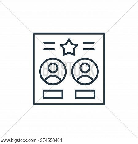 co leaders icon isolated on white background from leadership collection. co leaders icon trendy and