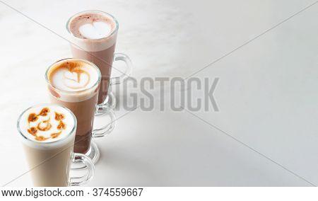 Italian Iced Coffee Latte Collection. Italian Iced Coffee Latte Collection.