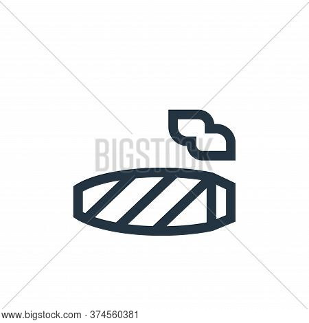 cigar icon isolated on white background from hippies collection. cigar icon trendy and modern cigar