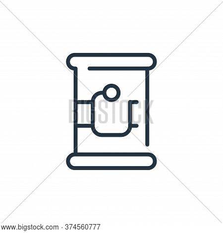 canned food icon isolated on white background from coronavirus collection. canned food icon trendy a