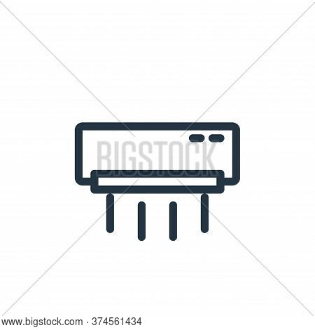 air conditioning icon isolated on white background from technology collection. air conditioning icon