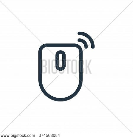 mouse icon isolated on white background from technology collection. mouse icon trendy and modern mou