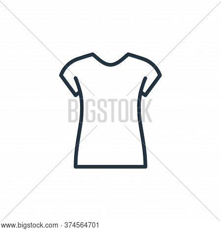 t shirt icon isolated on white background from wardrobe collection. t shirt icon trendy and modern t