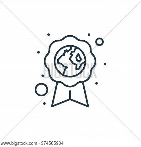 eco friendly icon isolated on white background from earth day collection. eco friendly icon trendy a