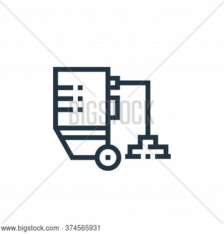 floor polisher icon isolated on white background from inside home collection. floor polisher icon tr