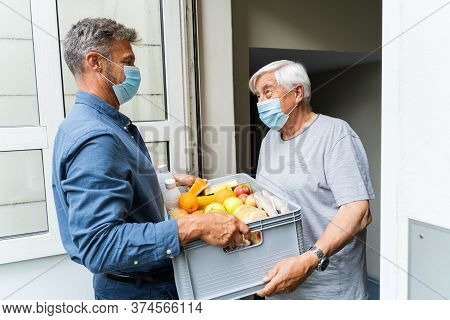 Grocery Food Shopping Help For Elder And Senior