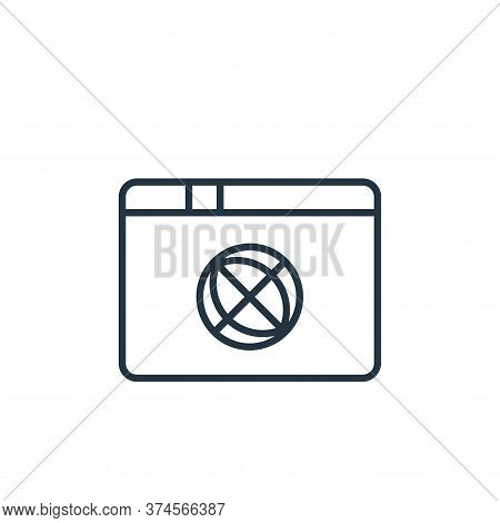 touch icon isolated on white background from user interface collection. touch icon trendy and modern