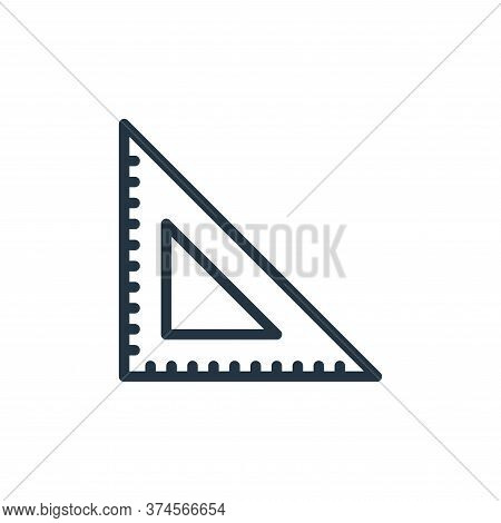 ruler icon isolated on white background from miscellaneous collection. ruler icon trendy and modern