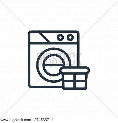 wash icon isolated on white background from stay at home collection. wash icon trendy and modern was