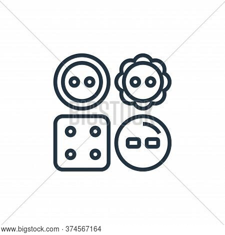 clothes icon isolated on white background from sewing equipment collection. clothes icon trendy and