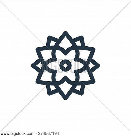 dalia icon isolated on white background from cinco de mayo collection. dalia icon trendy and modern