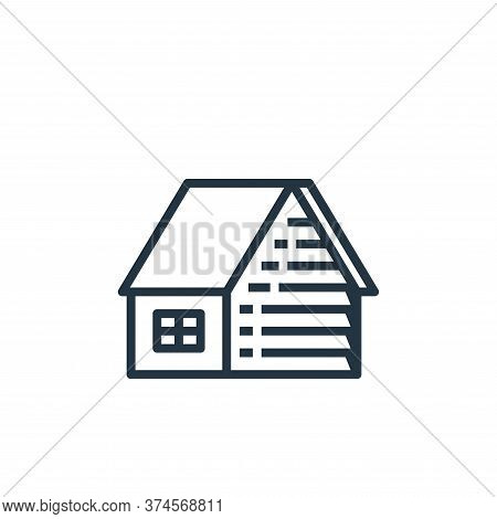 house icon isolated on white background from recycling collection. house icon trendy and modern hous