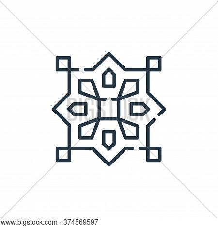 pattern icon isolated on white background from desert collection. pattern icon trendy and modern pat