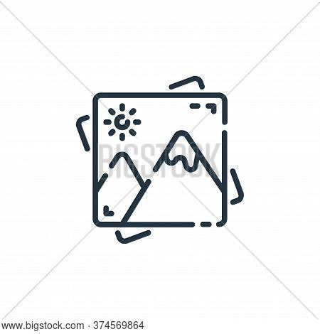 gallery icon isolated on white background from user interface collection. gallery icon trendy and mo