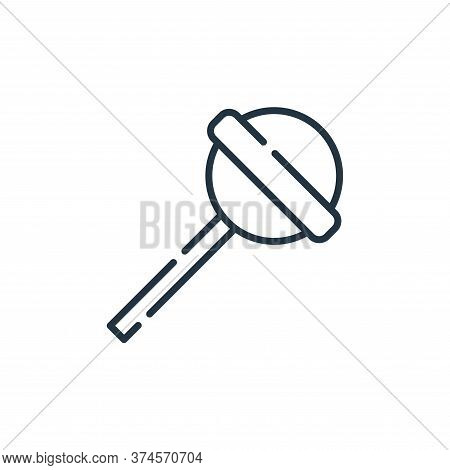 candy icon isolated on white background from allergies collection. candy icon trendy and modern cand