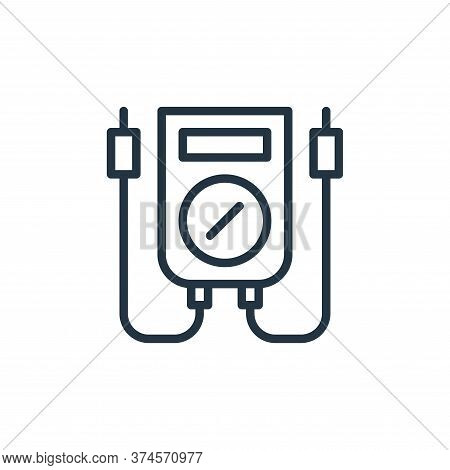 monitoring icon isolated on white background from engineering collection. monitoring icon trendy and