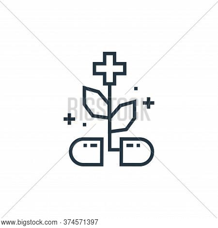 capsule icon isolated on white background from medical services collection. capsule icon trendy and