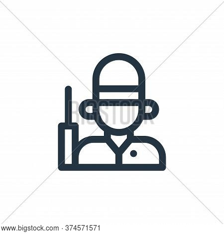 guard icon isolated on white background from england collection. guard icon trendy and modern guard