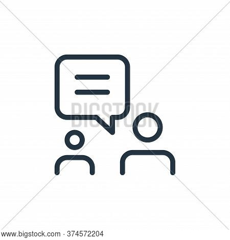 users icon isolated on white background from work office and meeting collection. users icon trendy a